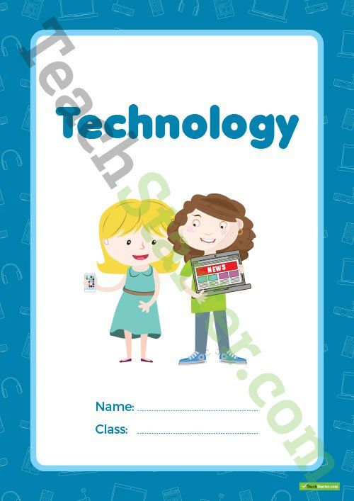 Technology Book Cover – Version 1 Teaching Resource