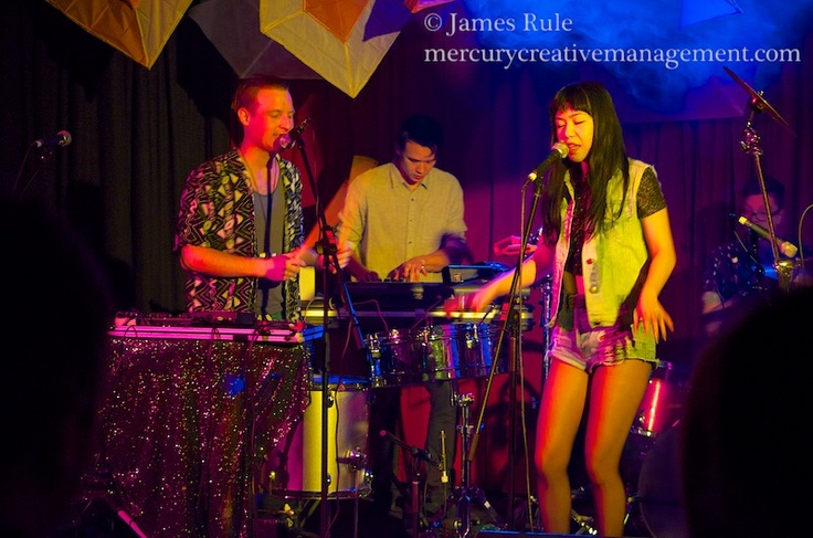 Mercury Creative Management Photography The band No-Zu play at one of 3RRRFMs Winter Warmers, Live to air