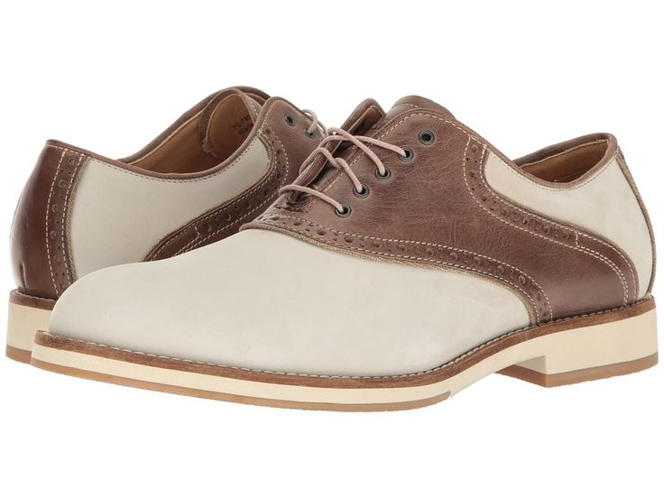 Men's 1950s Shoes Styles- Classics to Saddles to Rockabilly G.H. Bass amp Co. - Noah OysterBrown Nubuck Mens Lace up casual Shoes $109.95 AT vintagedancer.com