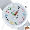 Reloj con correa de cuero de imitación Para La Mujer