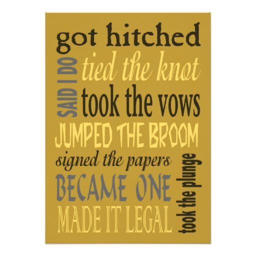 20 best Wedding images on Pinterest Invitations, Couple shower and - invitation wording for elopement party