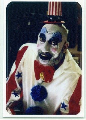 Captain Spaulding Sticker :: Stickers :: Weird Stuff :: House of Mysterious Secrets - Specializing in Horror Merchandise & Collectibles