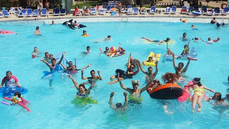 THB Tropical Island Lanzarote #Lanzarote #kids #fun #niños #vacaciones #familia #diversión #urlaub #vacaciones #poolparty