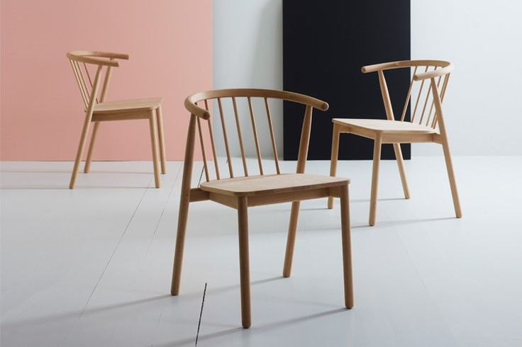 The Vang chair was launched at the new norwegian exhibition during London Design Festival, September 2012.