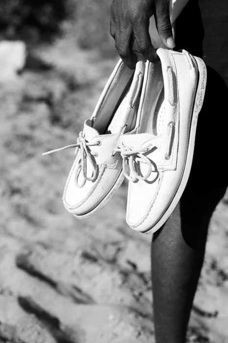 Summer days- Sperrys.