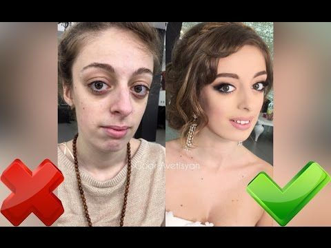 Top 50 Amazing Makeup Transformations! Goar Avetisyan  The Power of Makeup - YouTube.  [Wondering... I just hope each of these people know that her real beauty is who she is naturally. Don't be afraid to love yourself as you are, but if makeup is fun for you, or brightens your day, go for it. Just don't be a slave to it.]