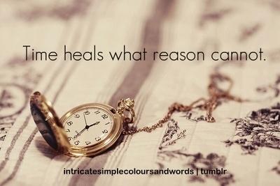 time heals what reason cannot. - Seneca