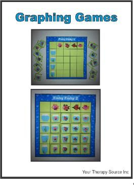 Graphing Games - Visual Perceptual and Math Skills