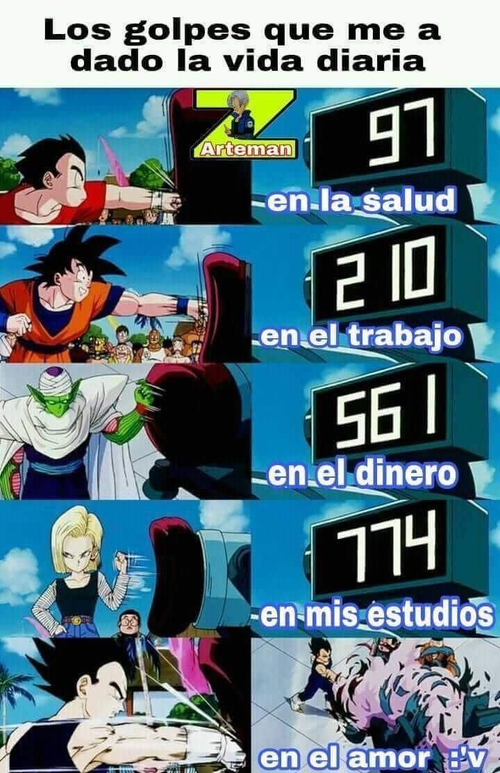 Memes De Dragon Ball Super Memes Divertidos Memes Memes Otakus