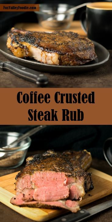 Coffee crusted steak rub- Been dying to try a coffee crusted filet mignon. This was perfect on the grill, so flavorful! Just would cut the salt down a little next time.