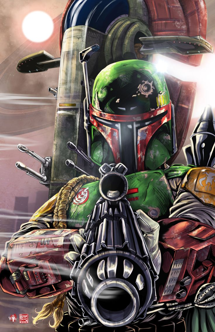 Boba Fett by WiL-Woods