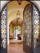 17 melhores ideias sobre portas de ferro forjado no decorating with a spanish influence