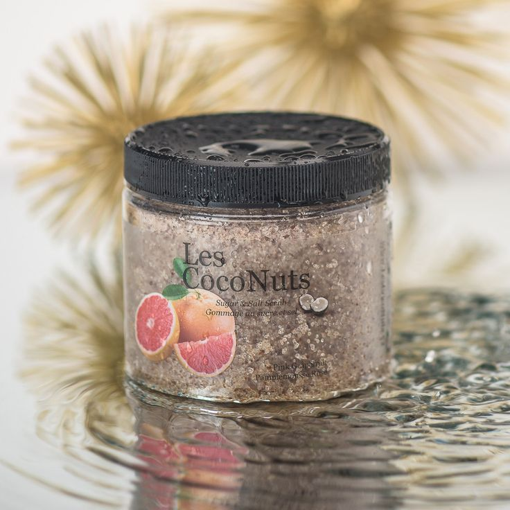 Hard to pick one favorite but I love this one soon much. Sugar & Salt Scrub - Pink Grapefruit – Les CocoNuts