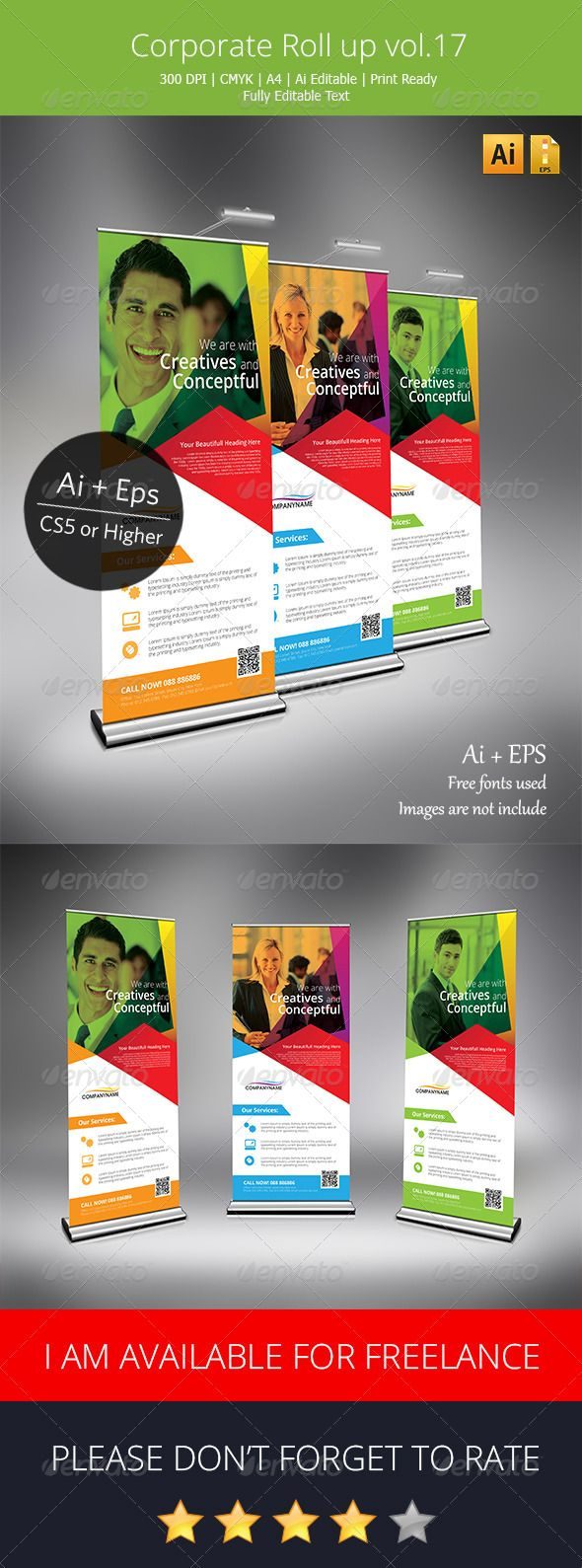 Corporate+Roll+Up+Banner+Vol.17