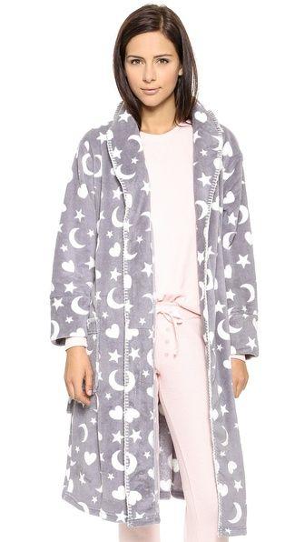 PJ LUXE PJ Salvage Printed Robe