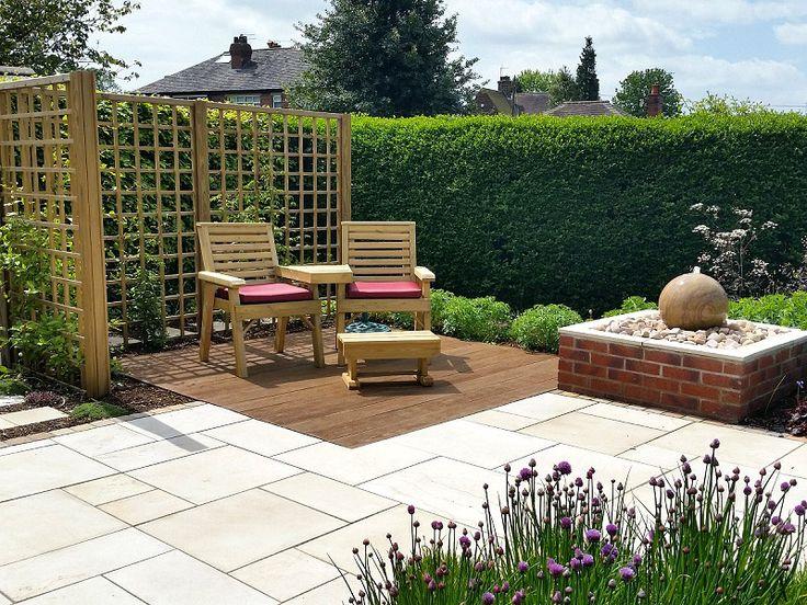 #gardens #gardendesign #englishgarden #cheshire #staffordshire #patio #paving #decking #trellis #waterfeature #plants #herbs