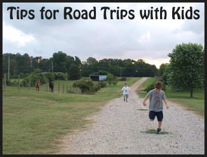 10 Tips for Happy Road Trips with Kids - Family Vacation Guide for Car Trips