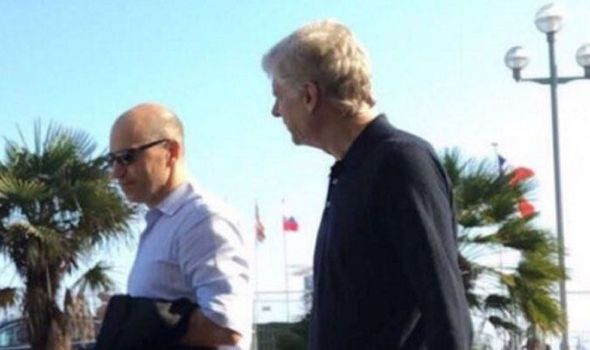 Arsene Wenger spotted with Arsenal chief in France - fans excited about Kylian Mbappe   via Arsenal FC - Latest news gossip and videos http://ift.tt/2qXBOjn  Arsenal FC - Latest news gossip and videos IFTTT