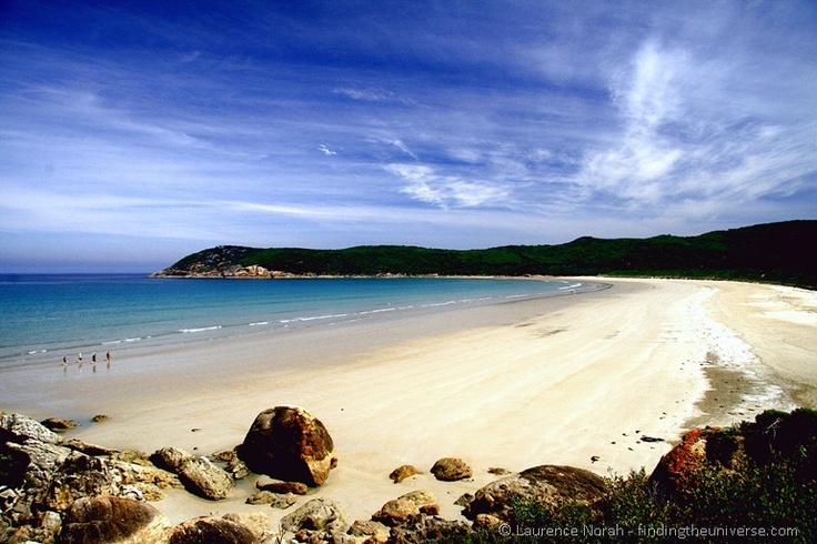Norman Beach at Wilsons Prom, Victoria. From Finding the Universe #Australia