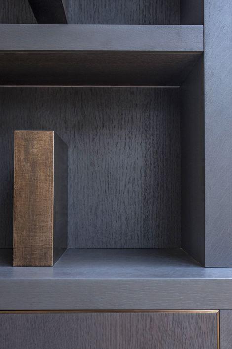 Rupert Bevan - Furniture Commissions   Bespoke Furniture London - Living Room LibraryWall