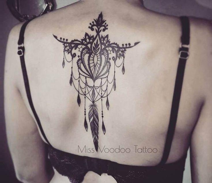 Dreamwatcher Jewelry tattoo by Miss Voodoo Tattoo