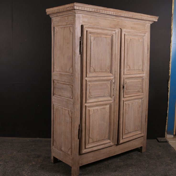 Antique French Armoire Read More:- Small 18th C French bleached oak  armoire. 1780 - 25 Best Antique Armories Images On Pinterest Antique Armoire