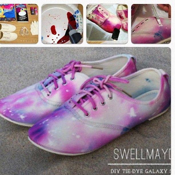 Galaxy DIY shoes! Doing these with white high heels - officially!!!