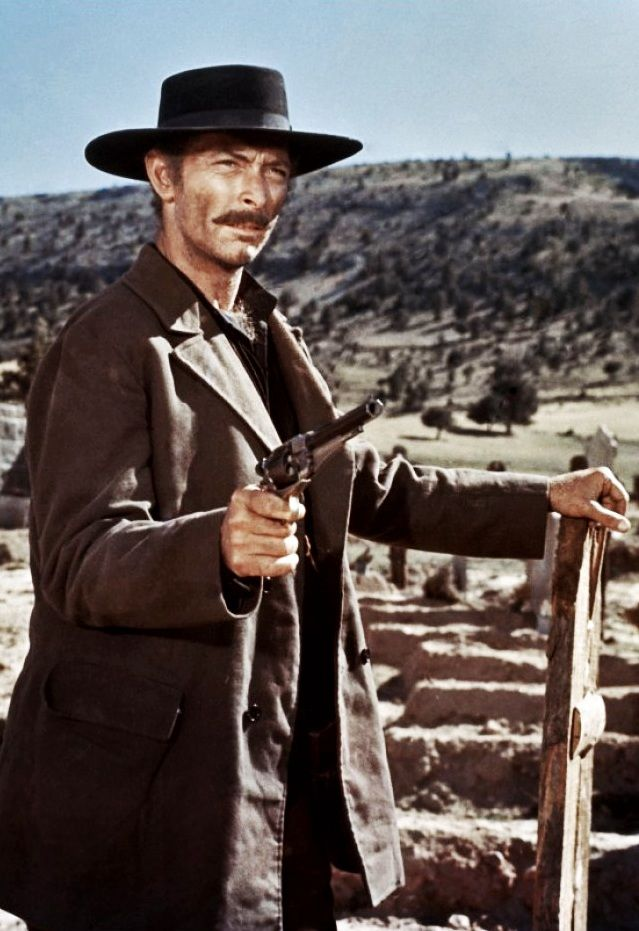 Lee Van Cleef in The Good, the Bad and the Ugly