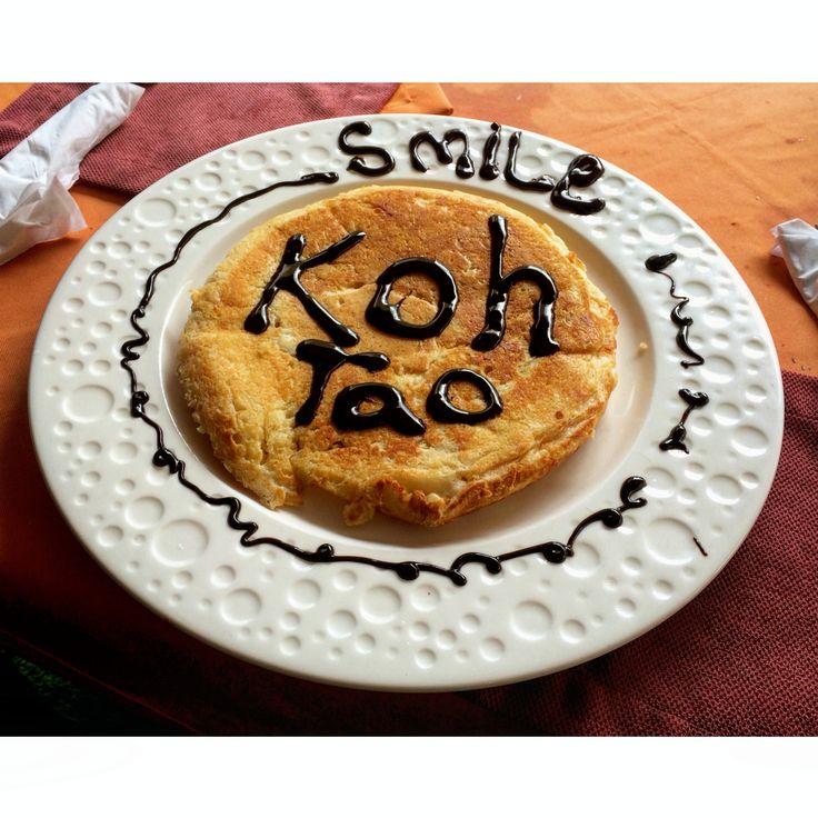 #Pancake #Smile #Kohtao #Thailand