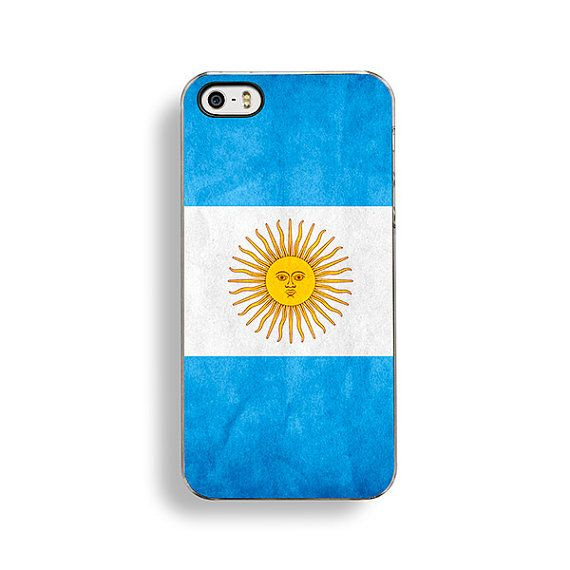 Argentina Flag iPhone Case by FlagOutfitters.