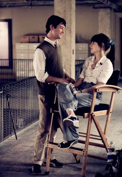 500 Days of Summer...Haven't seen this movie yet...just added it to my Netflix...but I love her...Can't wait to see it!