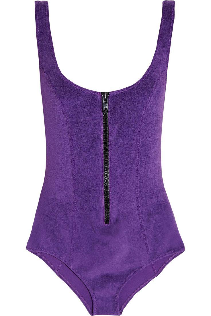Lisa Marie FernandezJasmine stretch-terry swimsuit