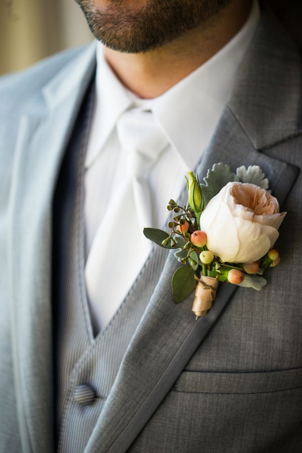 Best Peach Boutonniere Ideas On Pinterest Stock Bridesmaid