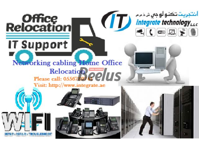 NETWORK CABLING HOME OFFICE RELOCATION WIFI TELEPHONE IN DUBAI TECHNICIAN FIBER CAT6 0556789741 Office PABX telephone system relocation IT expert technician in Dubai 0556789741 DUBAI 0556789741 PABX PBX Technician Installation REPAIR Repairing - Maintenance & Programming in Dubai – NEC TOPAZ, NITSUKO, PANASONIC, DU, Etisalat – 0556789741 WIFI Router range extender Installation Relocation for Home Villa School Office-0556789741 IT technician Technical support Installation Wifi Technician R...