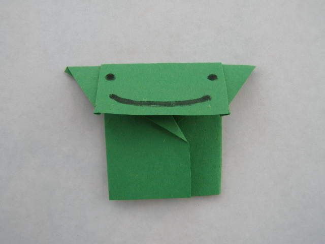 EX Origami Yoda step 6, You got that right -- a 6 step origami yoda. That I can do!