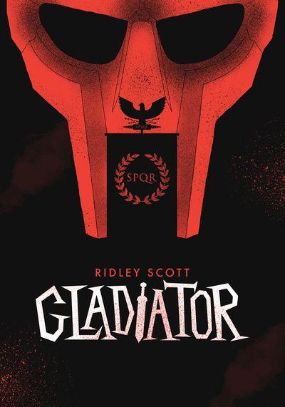 Gladiator, print, poster, russell crowe, rome, legion, centurion, ridley scott, red, black, movie, cinema, film,