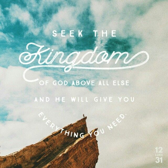Luke 12:31