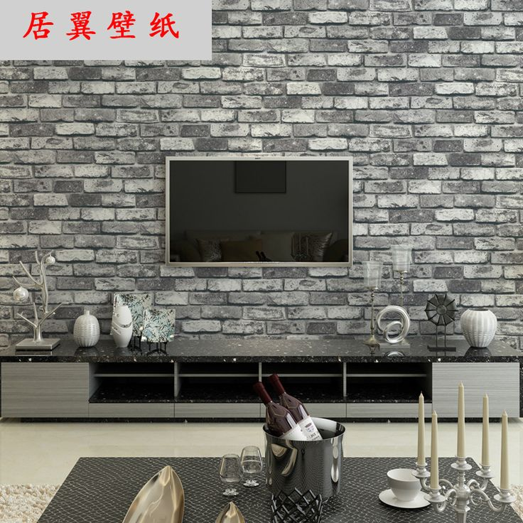 Aliexpress.com : Buy Looks Like Brick 3D Tuscan Brick Wallpaper 3D Pedras Panel Papel De Parede Background Behang Wall Decal Murals Wall Paper AB5085 from Reliable wall paper suppliers on KEN Comfortable Zone