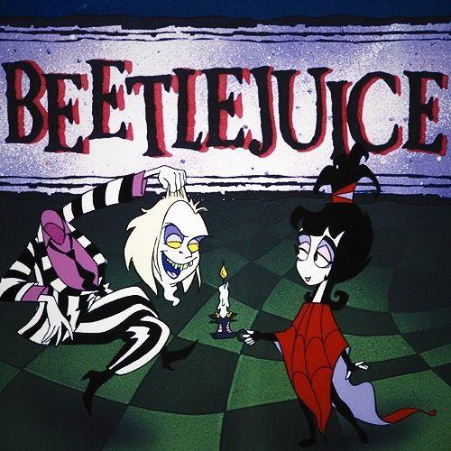 Beetlejuice cartoon