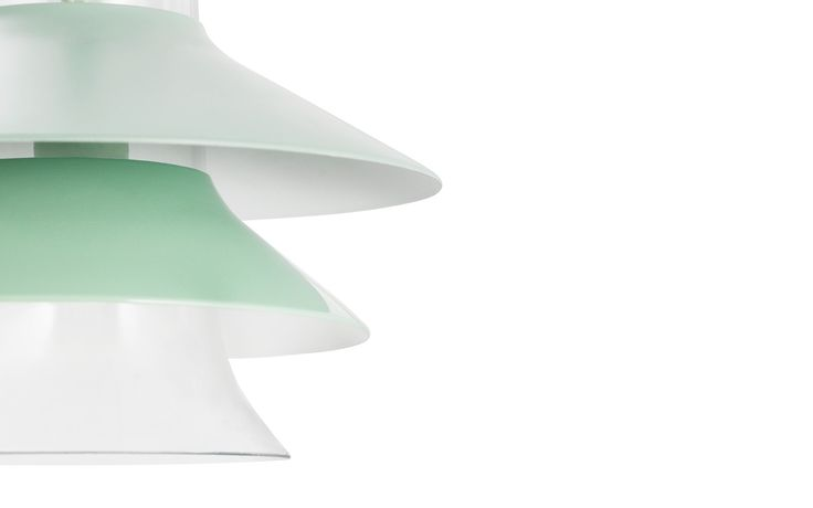 Ikono Lamp   Small   Mint colored ceiling lamp   Nordic design