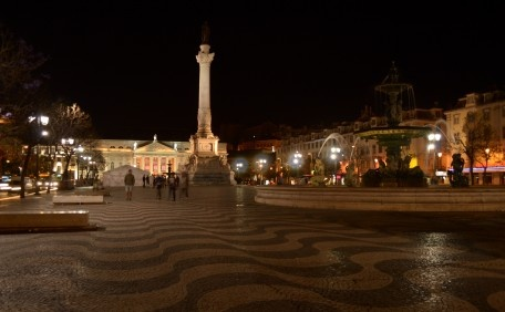 Rossio by night