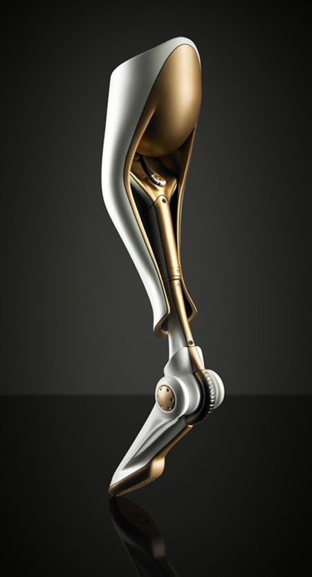 Prosthetic Leg Design by Thomas Belhacene Product Design #productdesign