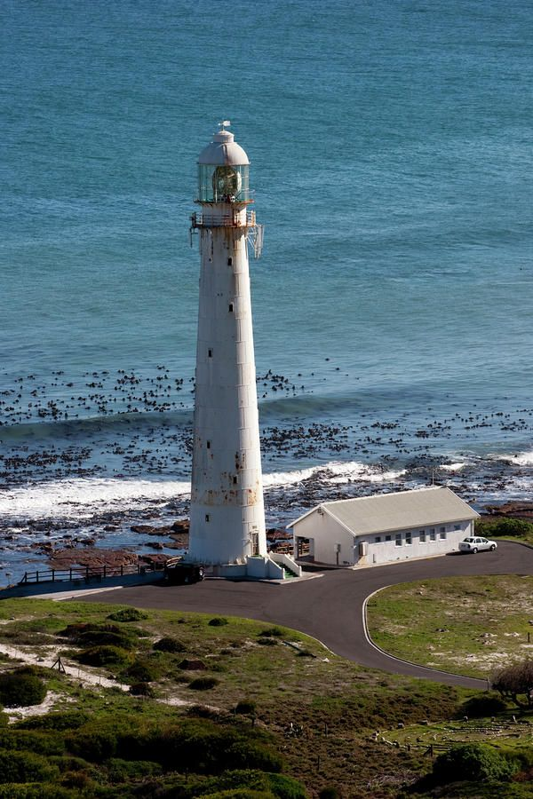 Slangkop is the tallest cast iron light house on the South African coast, near Kommetjie