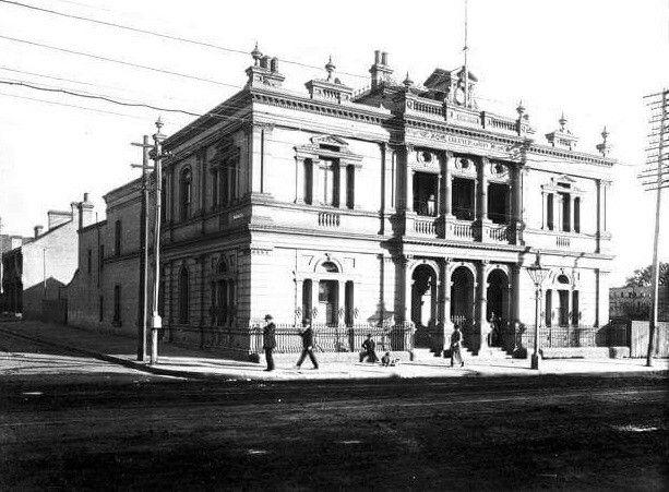 The Original Camperdown Town Hall At Corner Of Parramatta Rd And Mallett StThe