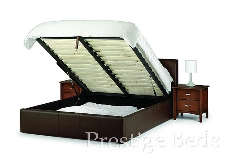 38 Best Leather Beds Images On Pinterest Leather Bed