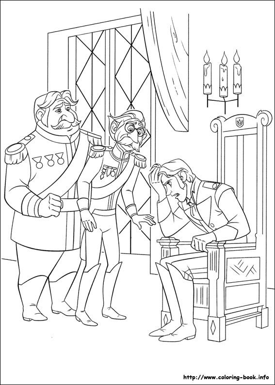 81 Best Disney S Frozen Colouring Pages Images On