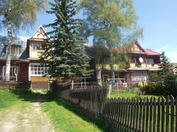 The hostel in Zdiar