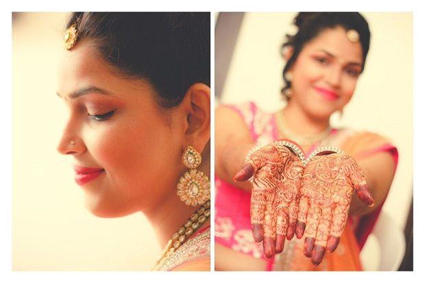 Candid Wedding Photography of Bride Getting Ready Shot at Vadodara,Gujarat by Sandeep Gadhvi Photography