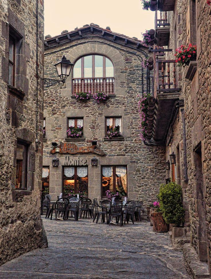 A lovely village Osona in Barcelona