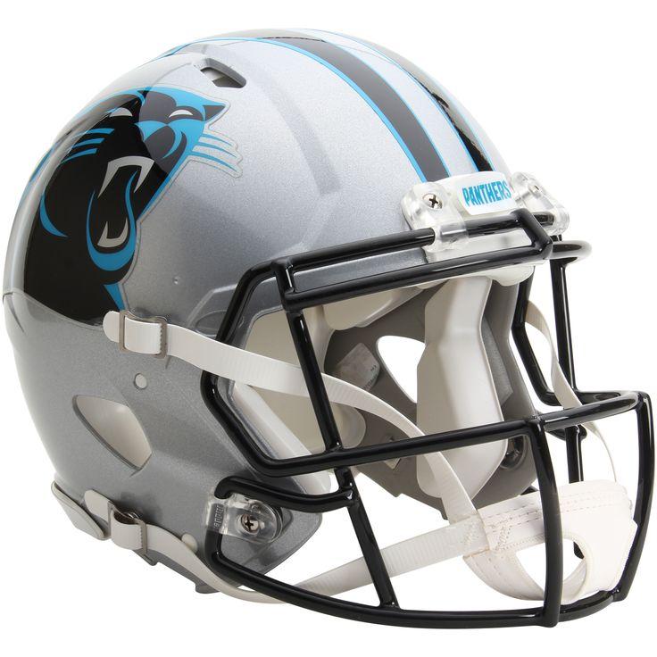 NFL Riddell Carolina Panthers Revolution Speed Full-Size Authentic Football Helmet